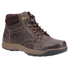 Hush Puppies: TAN Grover Mens Lace Boots 15