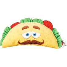 Ethical 54421 Fun Food Taco Plush Toy - Assorted Color, Small