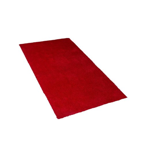 Shaggy Area Rug 80 x 150 cm Red DEMRE