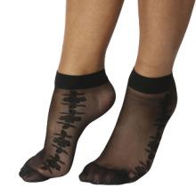Floral Mesh Socks
