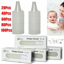 20/200x For Braun Probe Cover Thermoscan Replace Lens Ear Thermometer Filter Cap