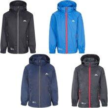 Trespass Unisex Kids Qikpac X Packaway Waterproof Hooded Jacket Coat
