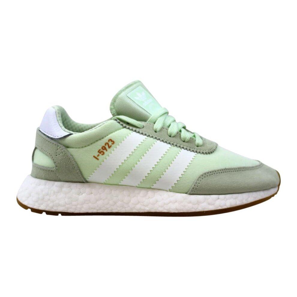 (4) Adidas Iniki Runner Aero Green/Cloud White-Gum CQ2530 Women's
