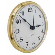 Clock Movement Quartz Insertion Arabic Numerals 103mm White Dial
