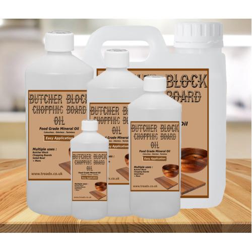(50ml) Chopping Board Oil 100% Food Grade Mineral Oil Butchers Block Oil