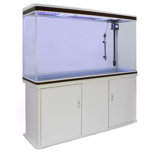 Fish Tank Cabinet - White | Large Fish Tank Aquarium