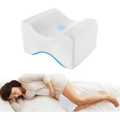 Knee Pillow for Sleeping On Side, Leg Pillow Cushion
