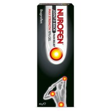 Nurofen Joint Back Pain Relief Max Strength 10% Gel 40g