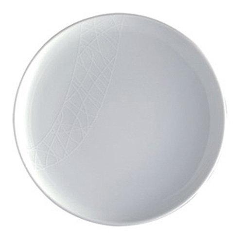 Jamie Oliver White On White Pukka Plate   White Dinner Plate