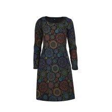 Women's Long Sleeve Dress All Over Print Design