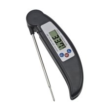 Food Thermometer, Digital Instant Read Meat Thermometer with Probe for Kitchen Cooking, BBQ, Poultry, Grill, Foldable, Fast & Auto On/Off