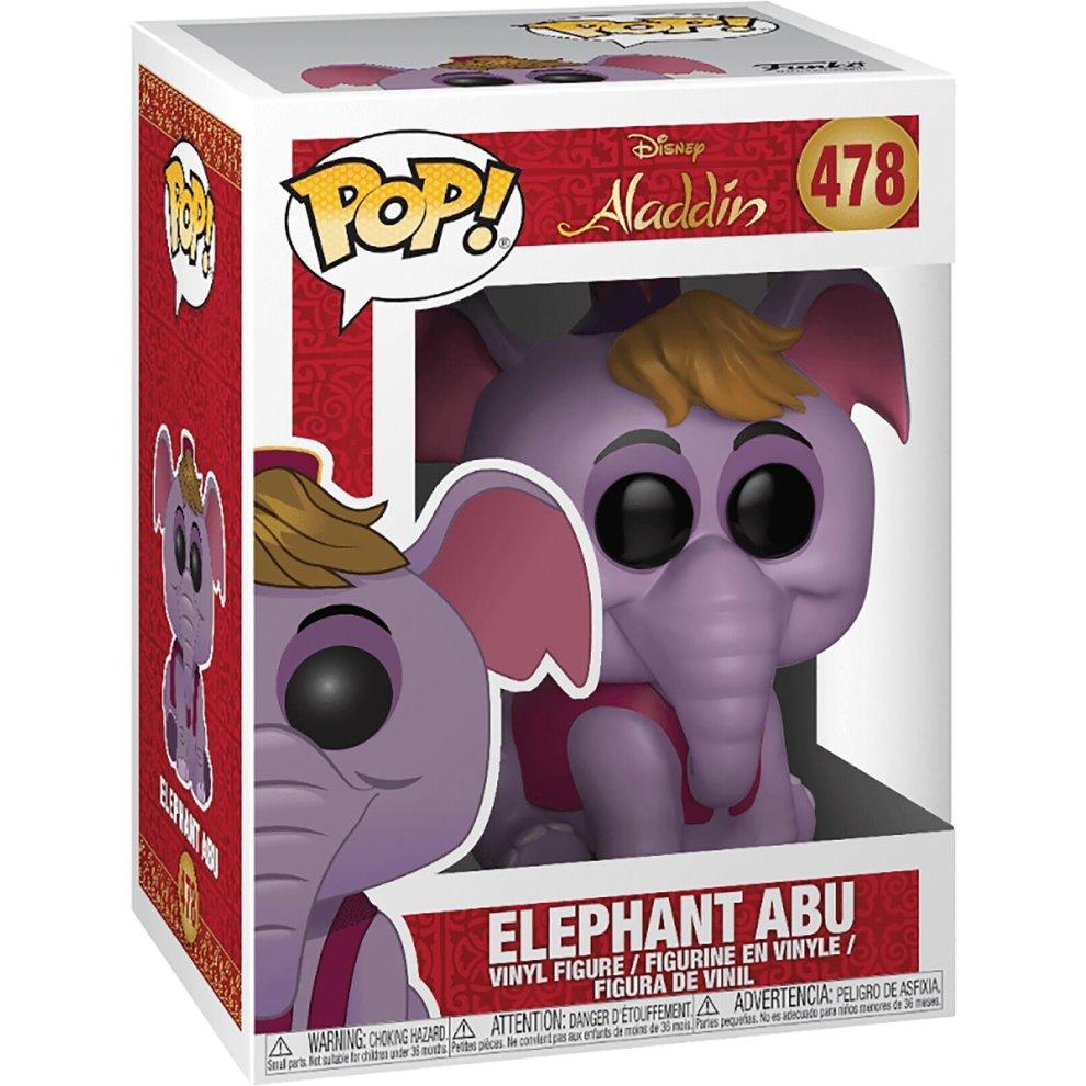 Funko Aladdin Elephant Abu Pop Disney Vinyl Collectable Figure #478