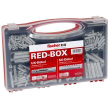 Fischer 40991 SX & UX R Wall Plugs Assortment RED-BOX Pack of 290 PCS