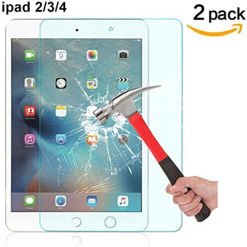 ACENIX® [2 - Pack] Tempered Glass Screen Protector for iPad 2/iPad 3/iPad 4