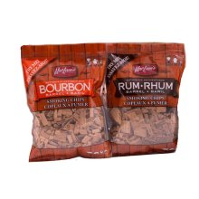 Rum & Bourbon Smoking chips - Try Me Size