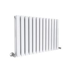 White 8pc Lulea Single Panel Radiator - 60 x 55cm   Horizontal Radiator