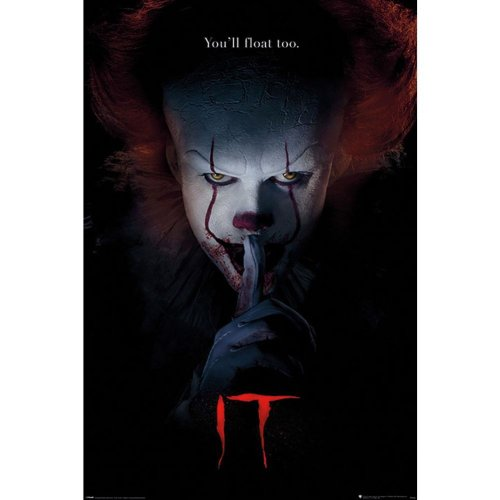 IT Pennywise Hush Poster