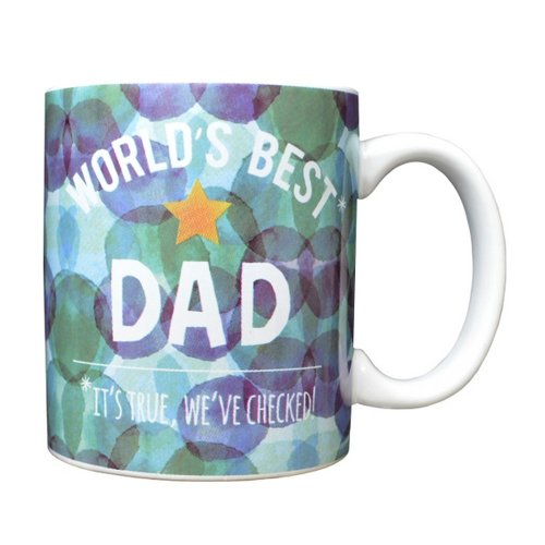 Fathers Day Worlds Best Dad Mug