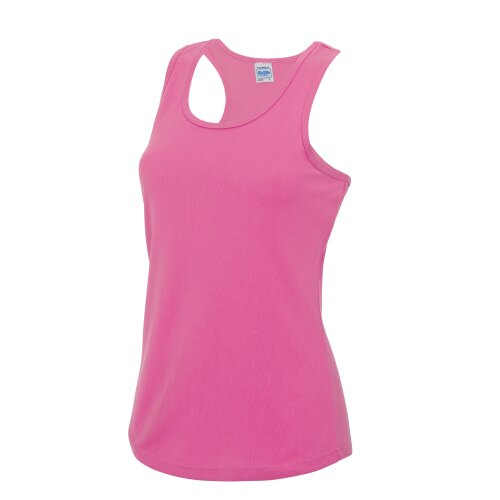 AWDis Cool Girlie Womens Fitness Workout Gym Running Wicking Sleeveless Vest Top