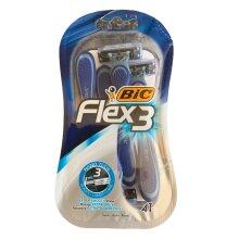 Bic Flex 3 Razors Nano Tech (4 in a pack)