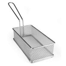 Rectangle Presentation Basket 21 X 10 X 6Cm For Chips Fries Vegetables