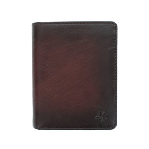 Visconti Atelier Collection Hector Leather Wallet RFID AT62 Burnish Tan