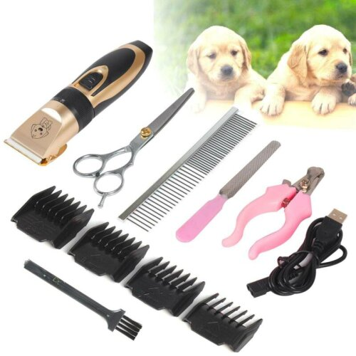 Dog Electric Clippers Pet Grooming Cordless Shaver Trimmer