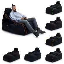 GAME OVER Bean Bag Gaming Chair Adult Lounger Seat