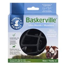 Baskerville Ultra Muzzle, Black, Size 3