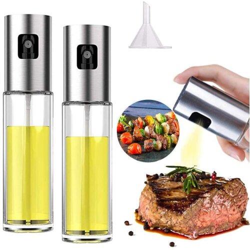 Civickar Olive Oil Sprayer for Cooking, Sprayer Mister, Spray BottleFood- Grade Glass Oil Spray Bottle 100ml, for Salad,Frying Kitchen