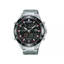 Lorus Men's Stainless Steel Bracelet Chronograph Watch