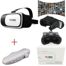 Classic shock 3D2.0 VR Glasses headset and Bluetooth remote control