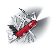 Genuine Victorinox CYBERTOOL LITE - LED light 34 function Swiss army knife
