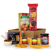 Cheese and Savoury Snack Gift Tray