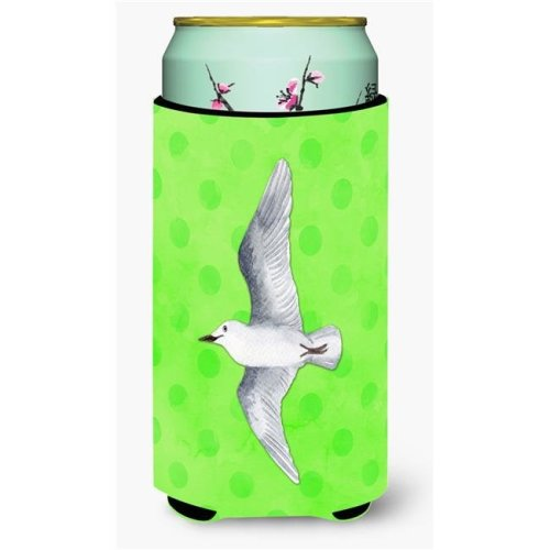 Sea Gull Green Polkadot Tall Boy Beverage Insulator Hugger