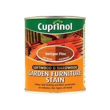 Cuprinol 5158526 Softwood & Hardwood Garden Furniture Stain Antique Pine 750ml