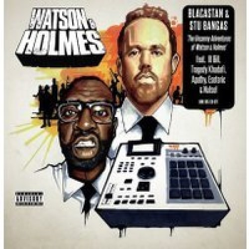 BLACASTAN & STU BANGAS - THE UNCANNY ADVENTURES OF WATSON & HOLMES - CD