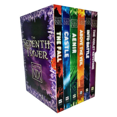 Garth Nix The Seventh Tower Collection 6 Books Box Set Castle