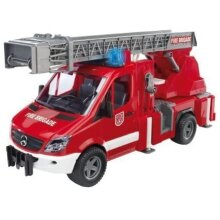 Bruder Mb Sprinter Fire Brigade Plus Fire ladder tender Pump 02532