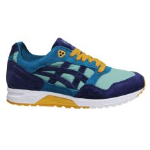 Asicstiger Gelsaga Multi Suede Leather Lace Up Mens Running Trainers 1191A14 301