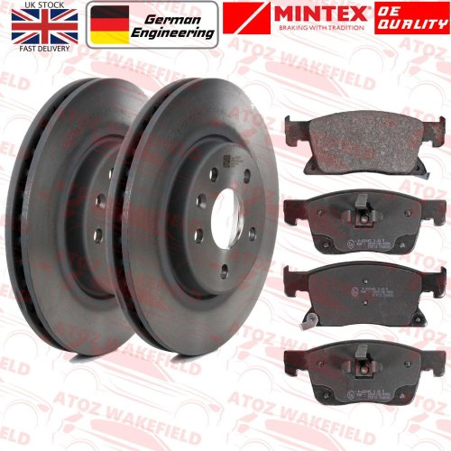 FOR VAUXHALL ASTRA K 1.4 TURBO FRONT MINTEX BRAKE DISCS PADS 276mm 2015-
