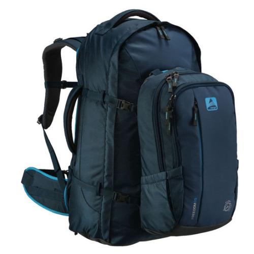 Vango Freedom II 80+20 Rucksack and Travel Backpack Turbulent Blue