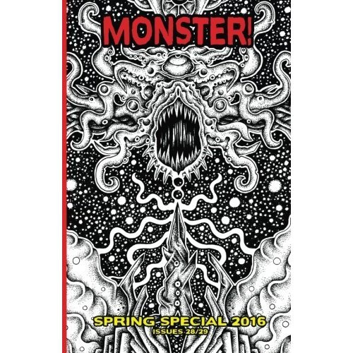 Monster! #28/29 (HPL cover): Super Spring Special - Lovecraftian Vampires & more