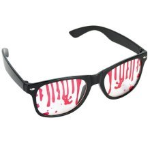 Party Glasses Covered In Blood - Halloween Adult One Size Perfect Accessory -  party glasses covered blood halloween adult one size perfect accessory