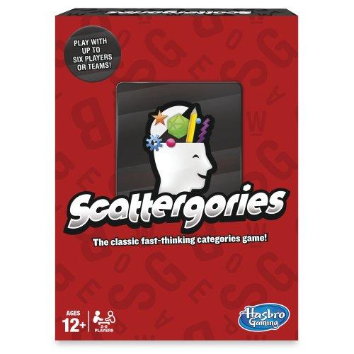 Hasbro Gaming Scattergories Game