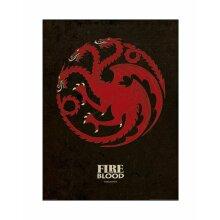 Game of Thrones Targaryen Poster