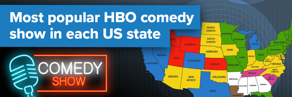 The Most Popular HBO Comedy Show In Each US State