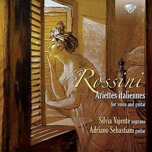 Silvia Vajente - Rossini; Carulli: Ariettes Italiannes For Voice And Guitar [CD]