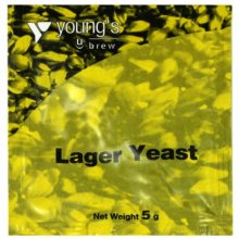 Youngs Lager Yeast 5g - treats 23L / 5 Gallon