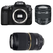 CANON EOS 90D KIT EF-S 18-55mm F3.5-5.6 IS STM + TAMRON SP 70-300mm